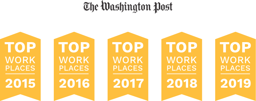top workplaces washington dc metro